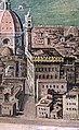 Jan Van der Straet (known as Giovanni Stradano) - The siege of Florence - Google Art Project - palazzo vecchio e case prima degli uffizi.jpg