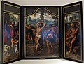 Jan sanders van hemessen, trittico del martirio di s. sebastiano, 1530 ca. 01.JPG