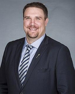 Jason Nixon Canadian politician