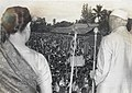Jawaharlal Nehru addressing a mass meeting at Sigaradja,1950.jpg