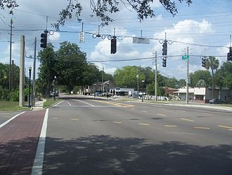U.S. Route 17 in Florida - US 17 in north Jacksonville