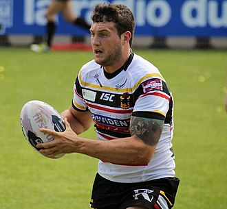 Jay Pitts - Pitts playing for the Bradford Bulls