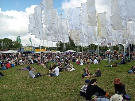 Jazz World field on the opening Wednesday afternoon of the festival Jazzworld07.JPG