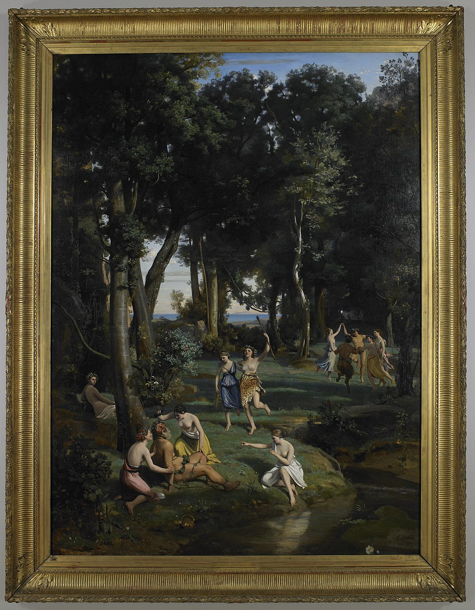 Jean-Baptiste-Camille Corot - Silenus - 73.42.2 - Minneapolis Institute of Arts
