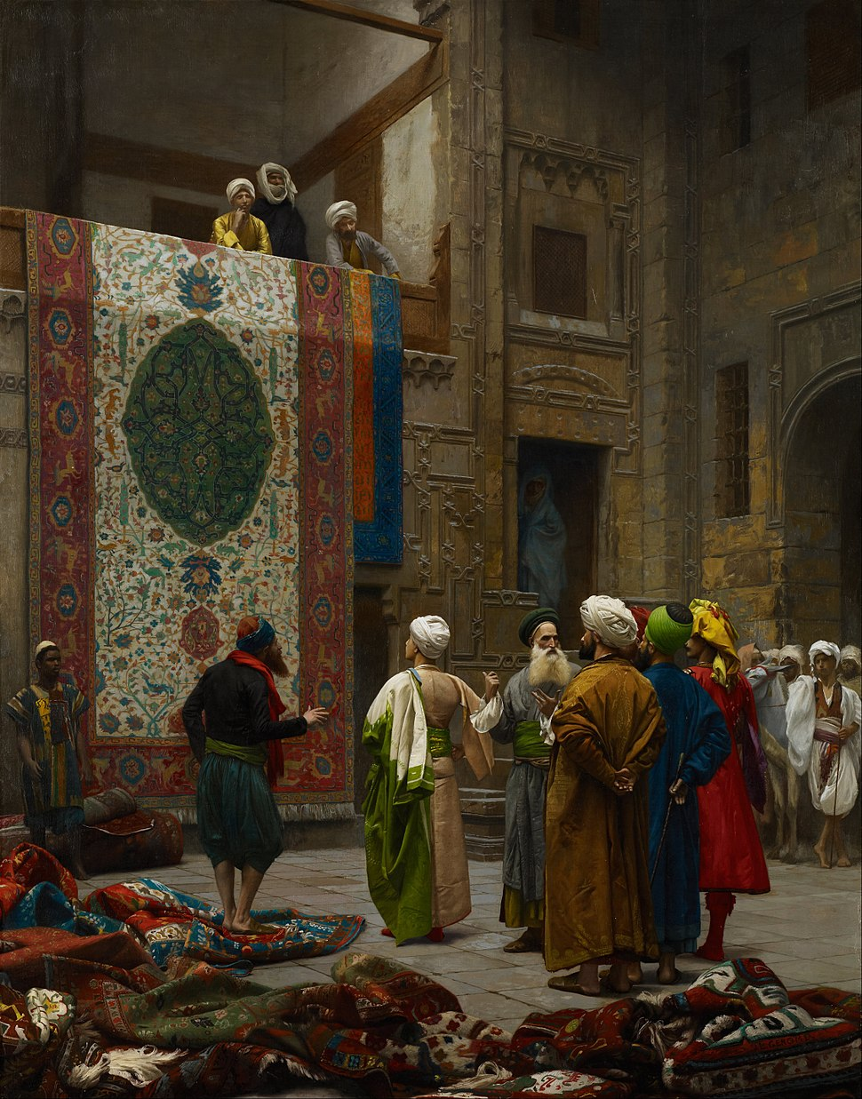 Jean-Léon Gérôme - The Carpet Merchant - Google Art Project