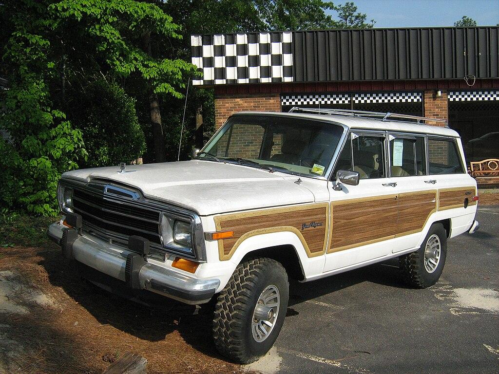 File Jeep Grand Wagoneer White Nc F Jpg Wikimedia Commons