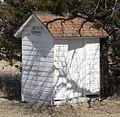 Jefferson County, Nebraska District 10 School outhouse 1.JPG