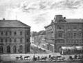 Jelacicev trg i ulica Marije Valerije 1884 Th. Mayerhofer.png