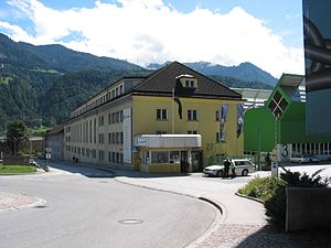 GE Jenbacher - Company building in Jenbach.