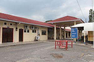 Jerantut District - Jerantut railway station
