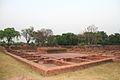 Jetavana Buddhist monastry rooms.JPG