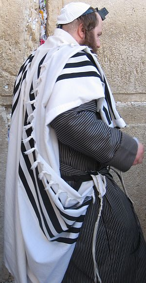 Jewish religious clothing - Image: Jewish Orthodox dress code 8