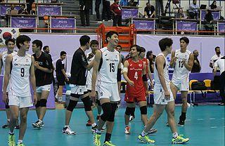 Jeong Min-su volleyball player