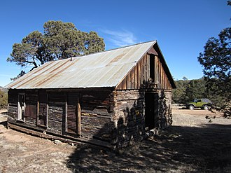 National Register of Historic Places listings in Lincoln County, New Mexico - Image: Jicarilla nm school 2