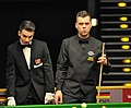 Jimmy Robertson and Marcel Eckardt at Snooker German Masters (Martin Rulsch) 2014-01-29 01.jpg