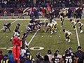 Joe Flacco under center vs Pittsburgh Steelers 12-2-12.jpg