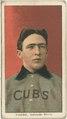 Joe Tinker, Chicago Cubs, baseball card portrait LCCN2008676402.tif