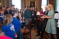 Joe and Jill Biden meeting with military kids from Fort Campbell at the White House in 2015.jpg