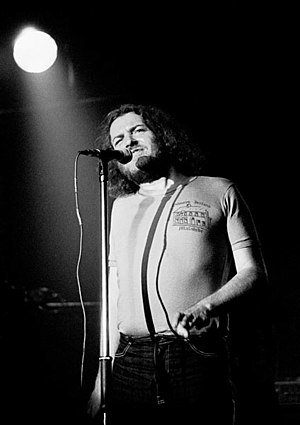 Joe Cocker - Cocker performing on 16 October 1980 in the National Stadium, Dublin