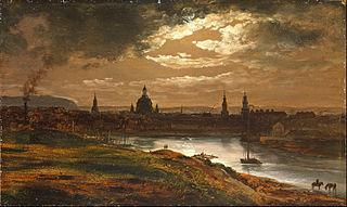 Dresden by Moonlight