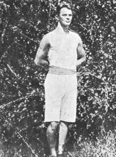 Johan Kemp Finnish gymnast