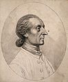 Johann Caspar Lavater; portrait. Drawing, c. 1793. Wellcome V0009293.jpg