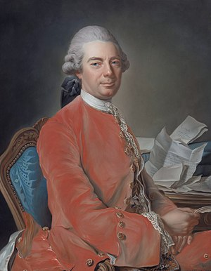 Bad Vöslau - Johann Graf Fries (1718-1793)