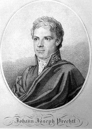 Bischofsheim an der Rhön - Johann Joseph von Prechtl around 1815
