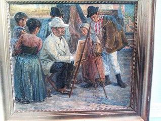 Zahrtmann maler i Civita d'Antino
