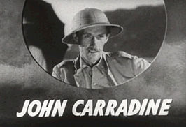 John Carradine in The Hurricane (1937)