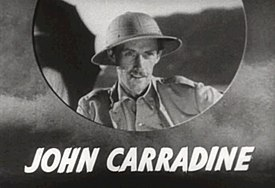 Retrach de John Carradine