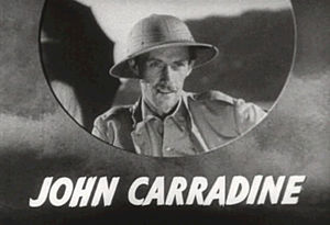 John Carradine - Screenshot from The Hurricane (1937)