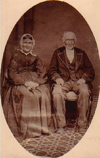 John Casey (Australian convict) - Emancipated convicts, John Casey and Caroline Purcell, pioneers of Gundaroo, c.1870