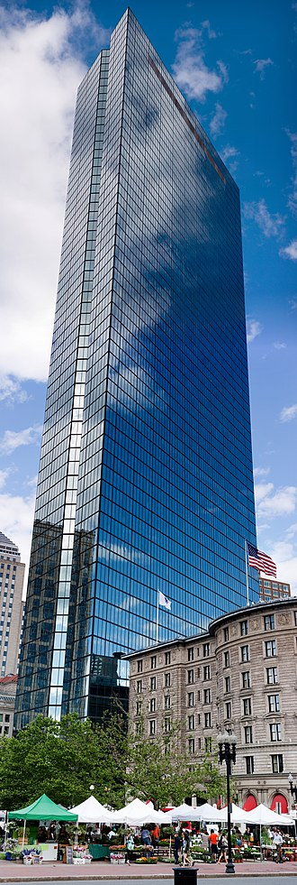 Bain Capital - In late 2011, Bain Capital moved its headquarters to the John Hancock Tower (now 200 Clarendon Street) in Boston, Massachusetts. Bain occupies 210,000 sq. ft. from the 36th to 43rd floors.