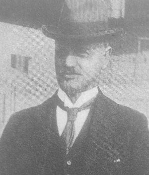 John Nicholson (football secretary) - Contemporary portrait of John Nicholson