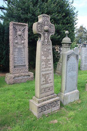 John Stuart Blackie - John Stuart Blackie's grave, Dean Cemetery