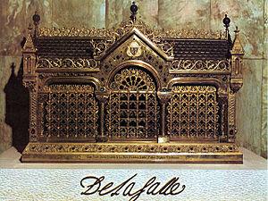 Jean-Baptiste de La Salle - Relics of John Baptist de La Salle in the Casa Generaliza in Rome, Italy