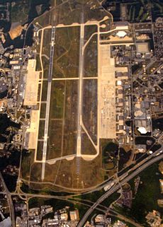 Joint Base Andrews aerial photo 16 May 2010