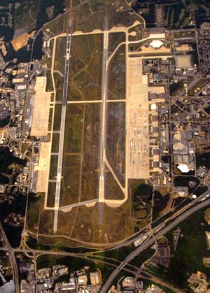 Joint Base Andrews - Aerial photo 16 May 2010