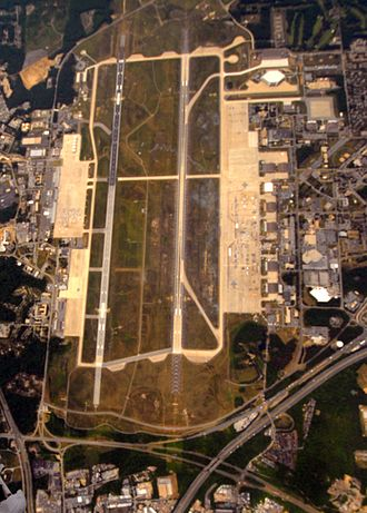 Andrews Air Force Base - Aerial photo 16 May 2010