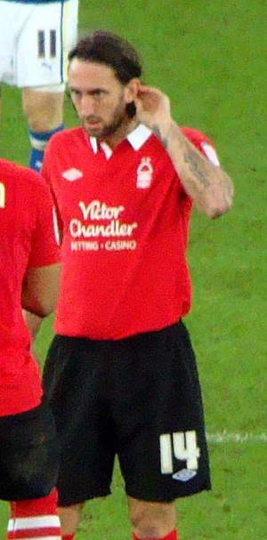 Jonathan Greening - Greening playing for Nottingham Forest in 2011