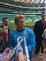 Jonny Wilkinson 2009 08 12 3 Whitton twickenham england training.jpg