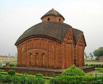 Bankura district - Jor Bangla temple of 16 century in Bankura