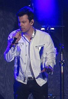 Jordan Knight American singer and member of New Kids on the Block