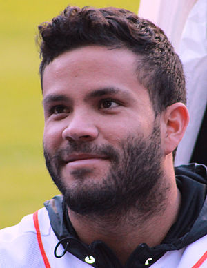 José Altuve - Altuve at an Astros event in January 2015