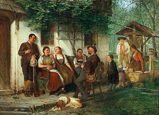 Josef Kinzel - Spinning a Yarn