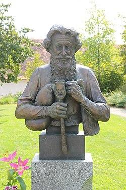 Josef Režný statue Strakonice 2018.jpg