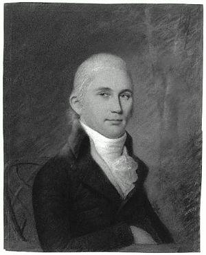 Joseph Dennie - Portrait of Joseph Dennie by James Sharples, c. 1790