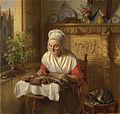 Josephus Laurentius Dyckmans - The lace maker.jpg