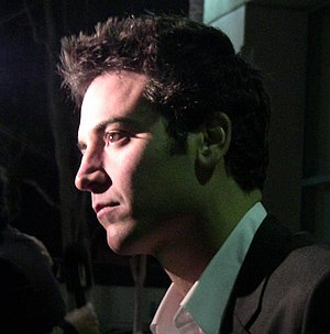 "A profile shot of actor Josh Radnor at ""A..."